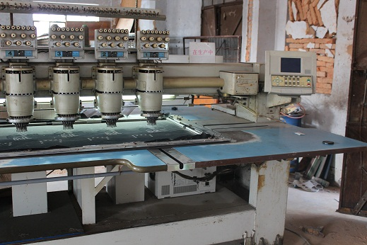 Second-hand barudan embroidery machines